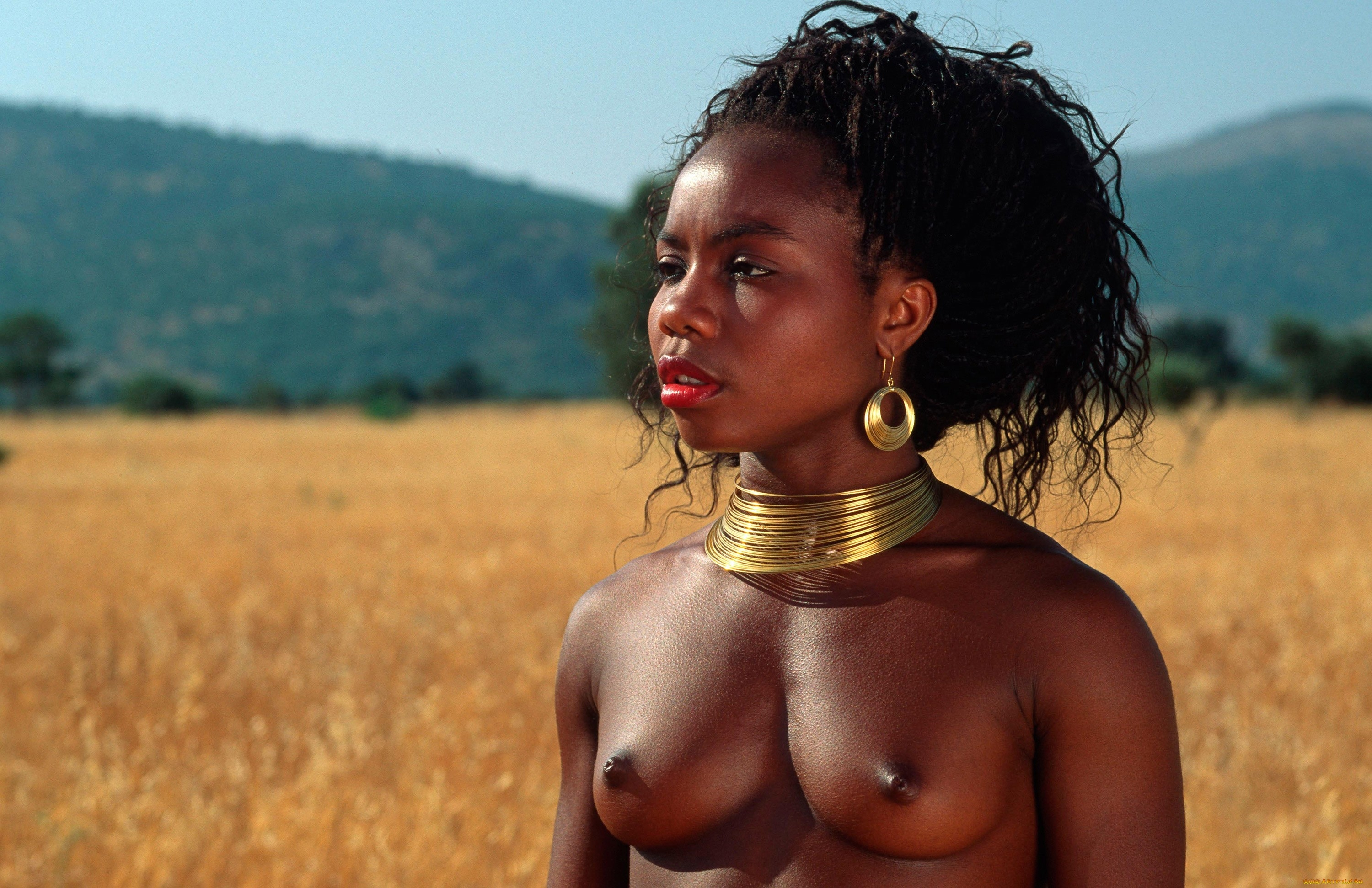 Don't watch if you are not alone african isolated tribes nude naked african tribes