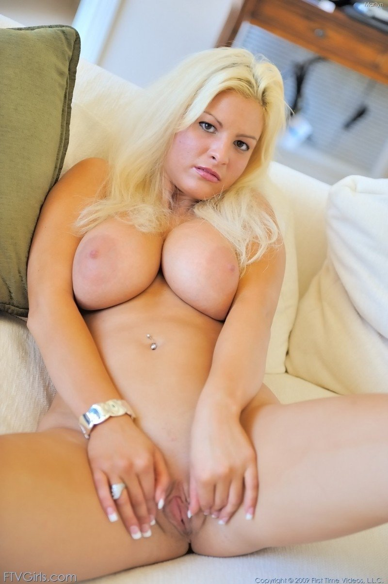 Big boobed blondes