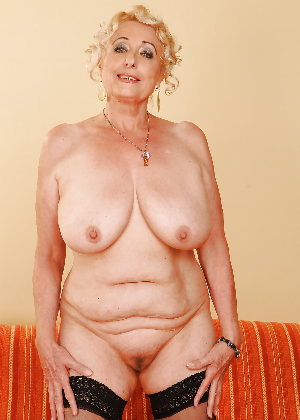 Naked older pic woman