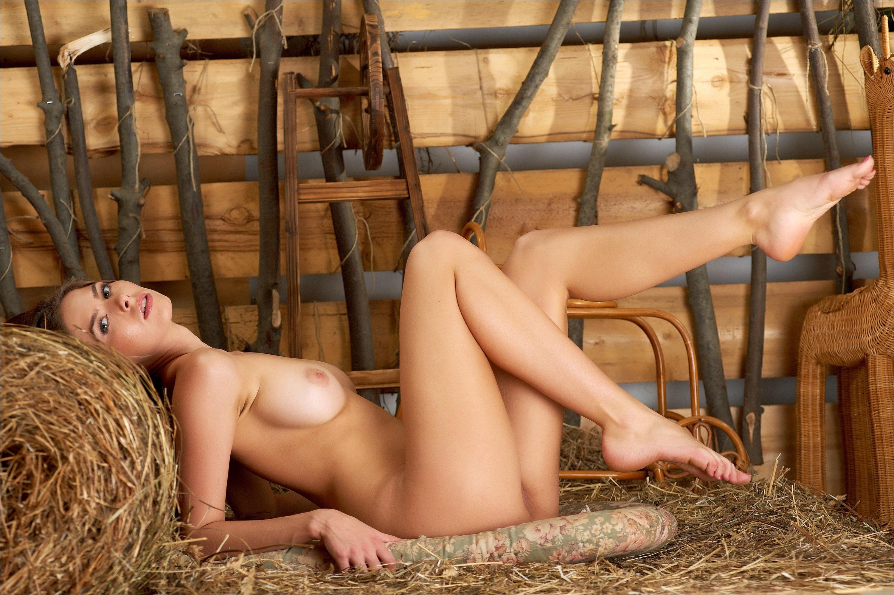 Naked in the barn — photo 9