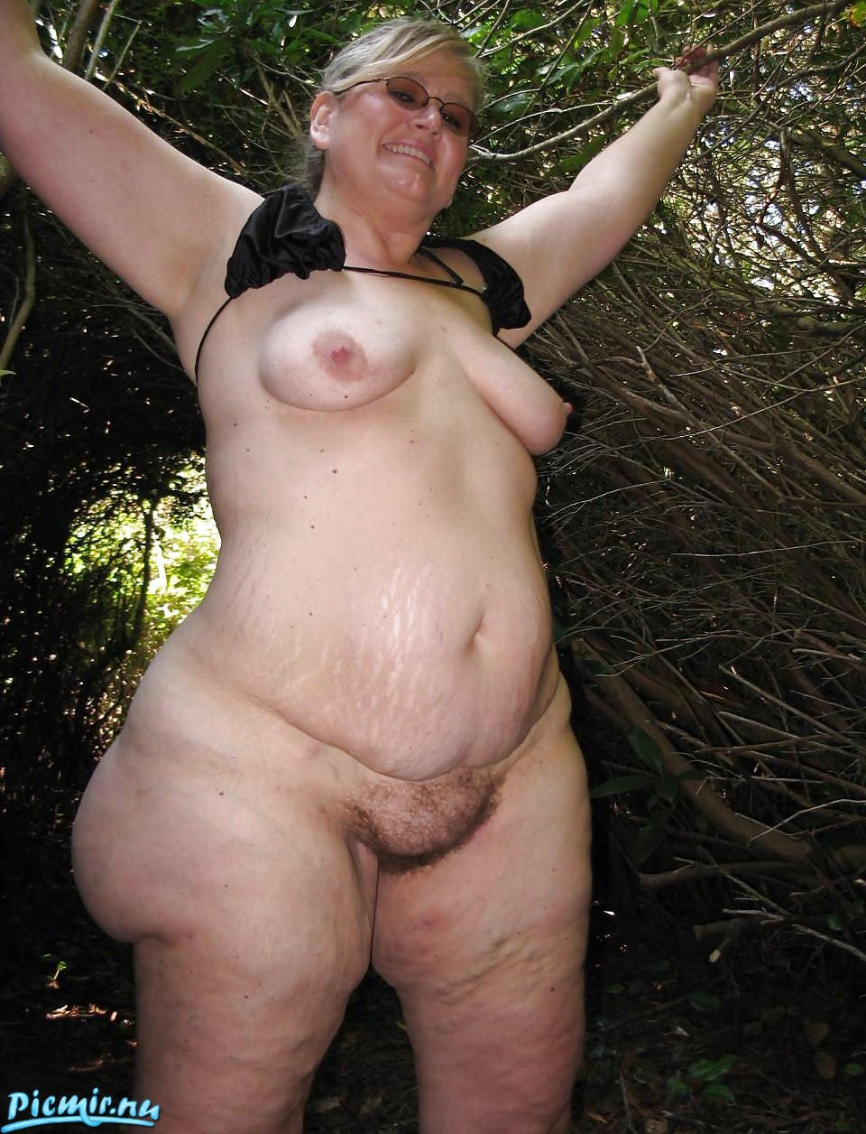 Naked mature granny nude