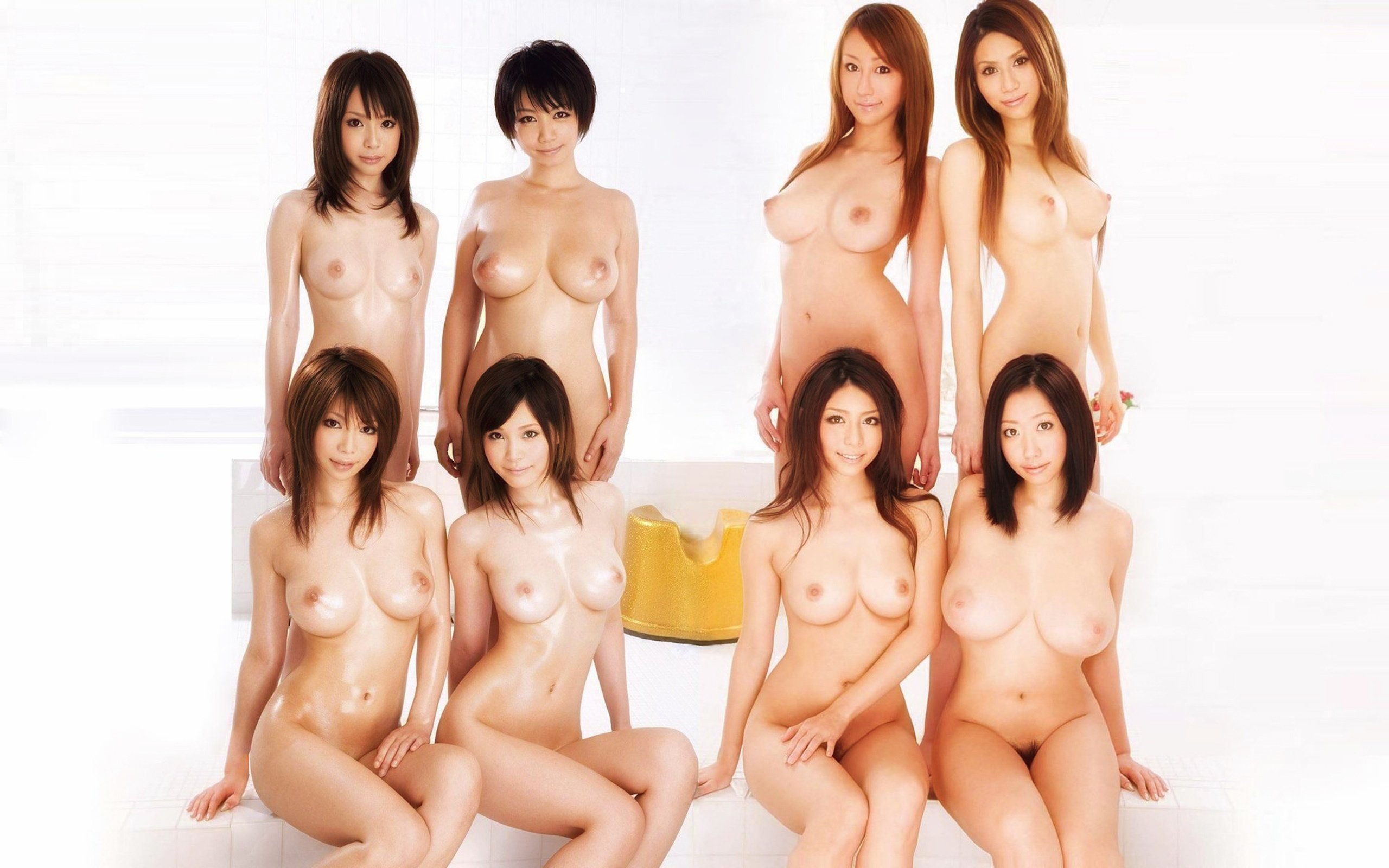 Japan animation girls naked