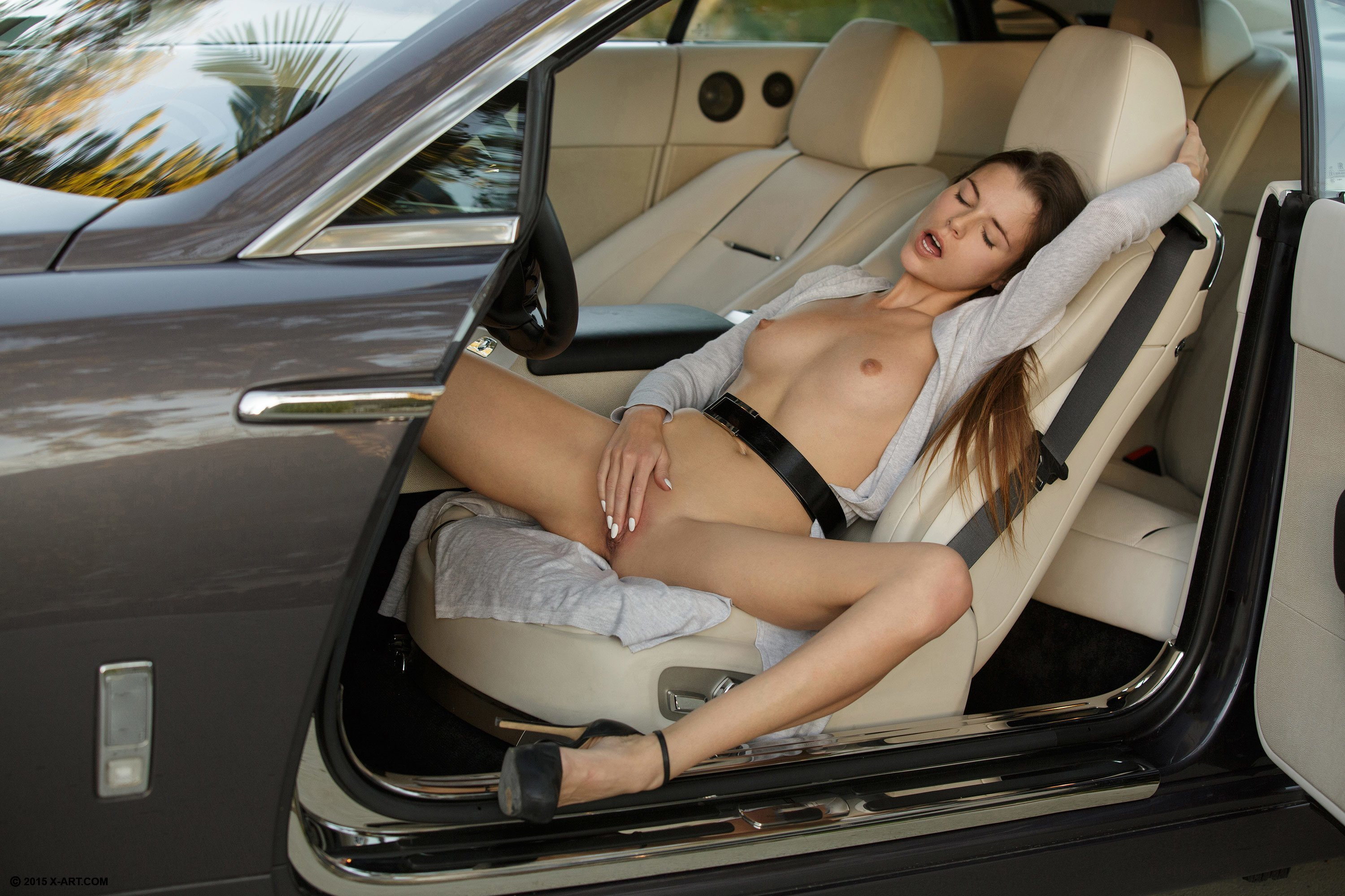 Nude inside car, mature naked milfs