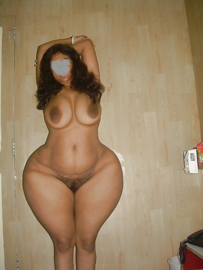 Nude picture of big hip woman
